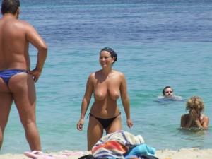 Spanner Am Strand